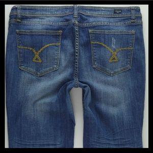 Vigoss P8032J Flare Stretch Jeans Juniors 15 #312
